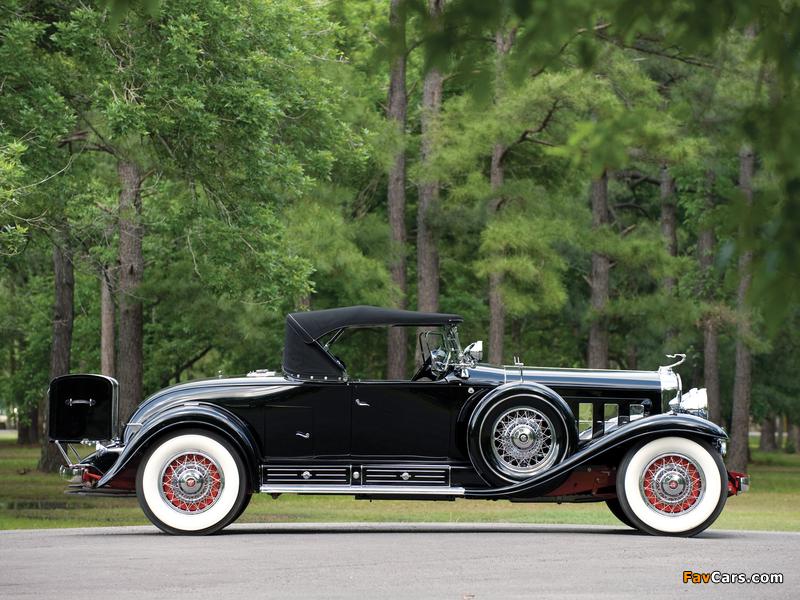 Cadillac V16 452 Roadster 1930 photos (800 x 600)