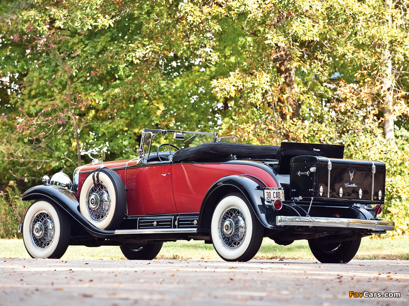 Cadillac V16 452 Roadster 1930 pictures (800 x 600)