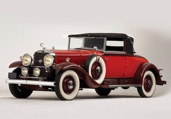 Cadillac cabriolet V16 Fleetwood. 1931  Jo-Han  1/24 Cadillac_v16_1930_pictures_7_b