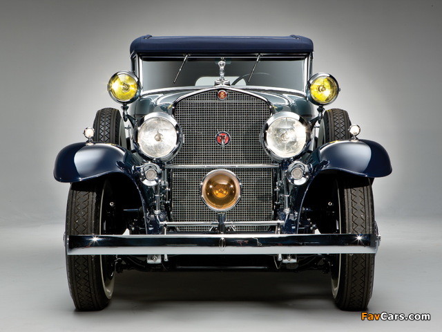 Cadillac V16 Convertible Sedan by Saoutchik 1930 pictures (640 x 480)