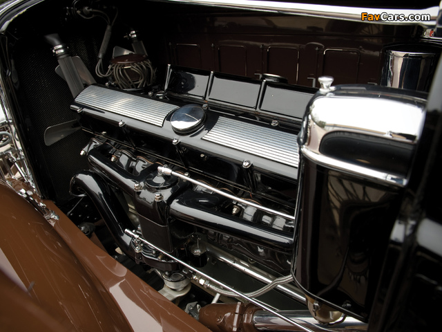 Cadillac V16 452/452-A Roadster by Fleetwood 1930–31 wallpapers (640 x 480)