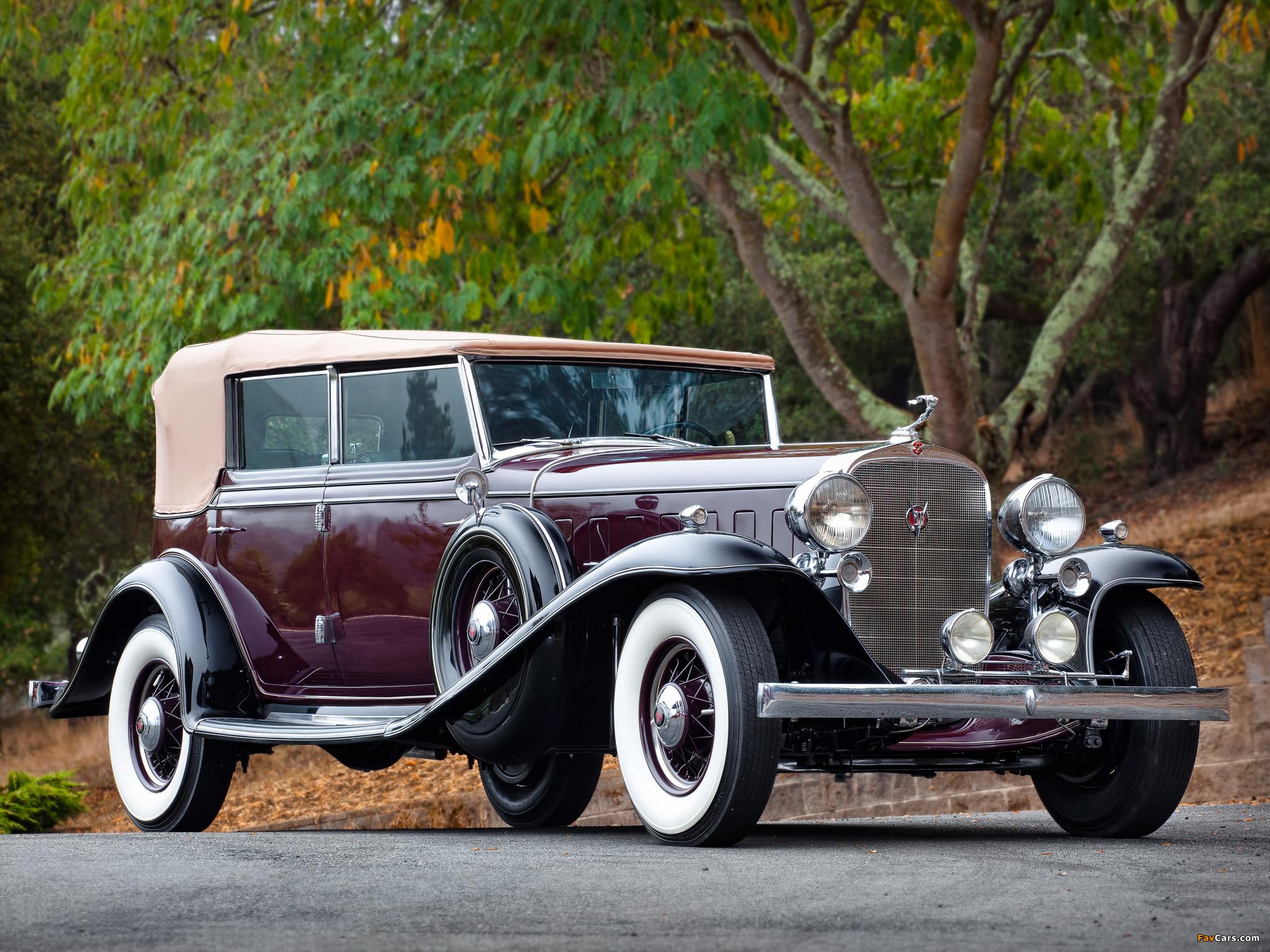 Cadillac V16 452-B All Weather Phaeton by Fisher (32-16-273) 1932 photos (2048 x 1536)
