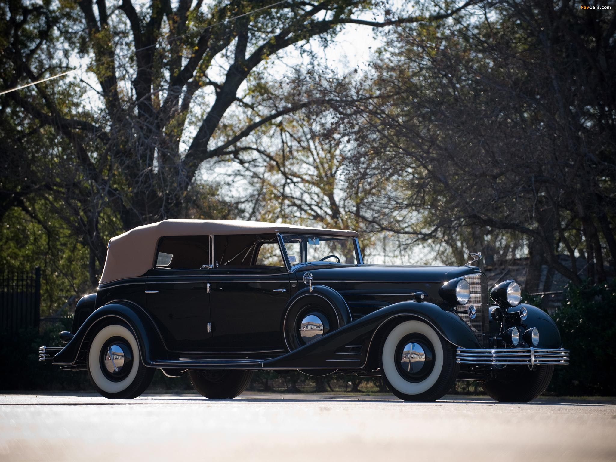 Cadillac V16 Convertible Phaeton by Fleetwood 1933 photos (2048 x 1536)