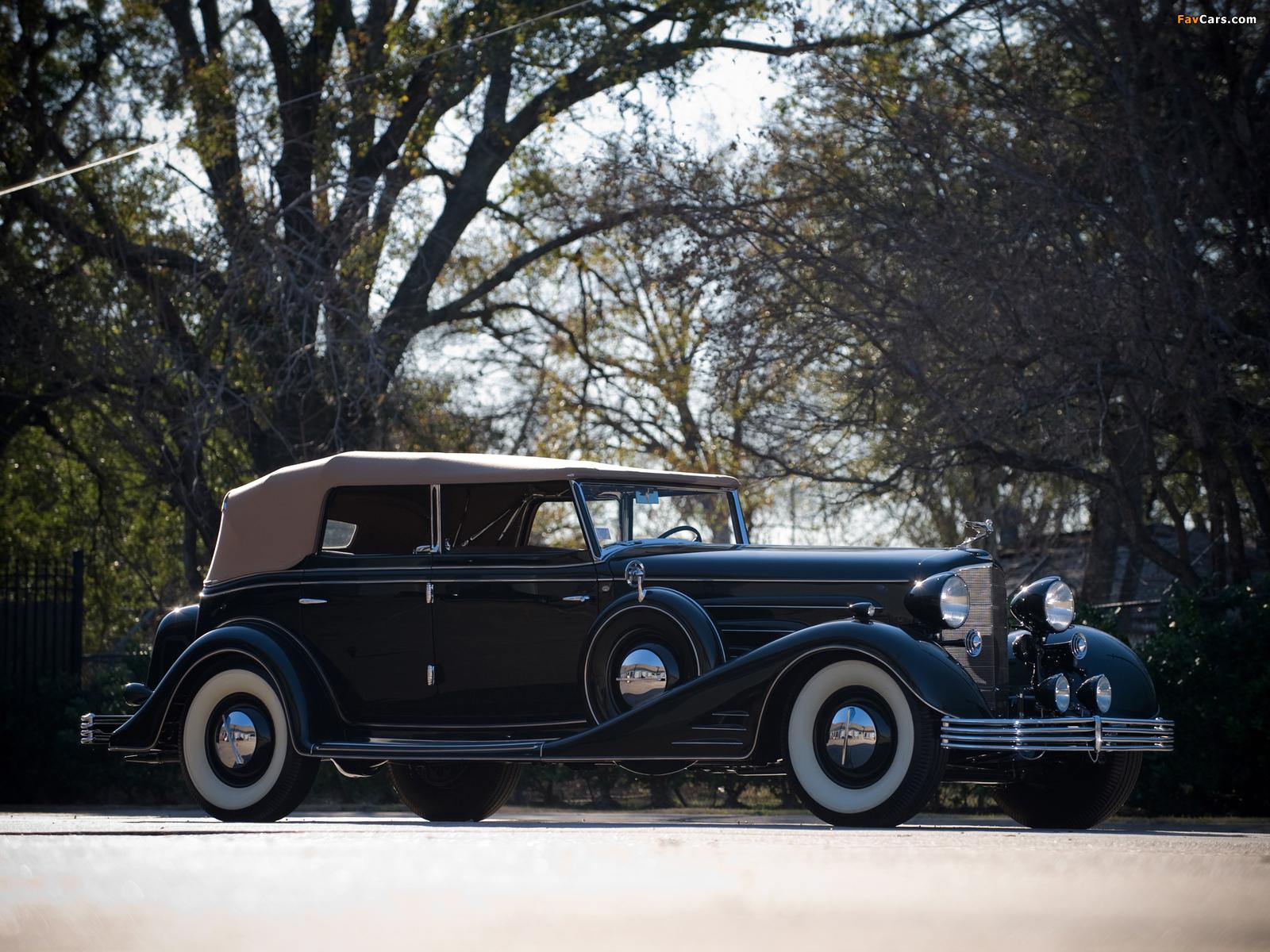 Cadillac V16 Convertible Phaeton by Fleetwood 1933 photos (1600 x 1200)