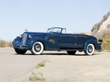 Cadillac V16 452-D Convertible Sedan by Fleetwood (5780) 1934 pictures