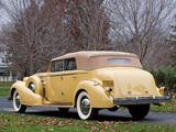 Cadillac V16 452-D Imperial Convertible Sedan 1935 wallpapers