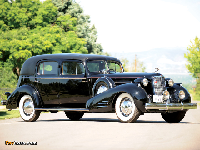 Cadillac V16 Series 90 Custom Imperial Cabriolet by Fleetwood 1937 images (640 x 480)