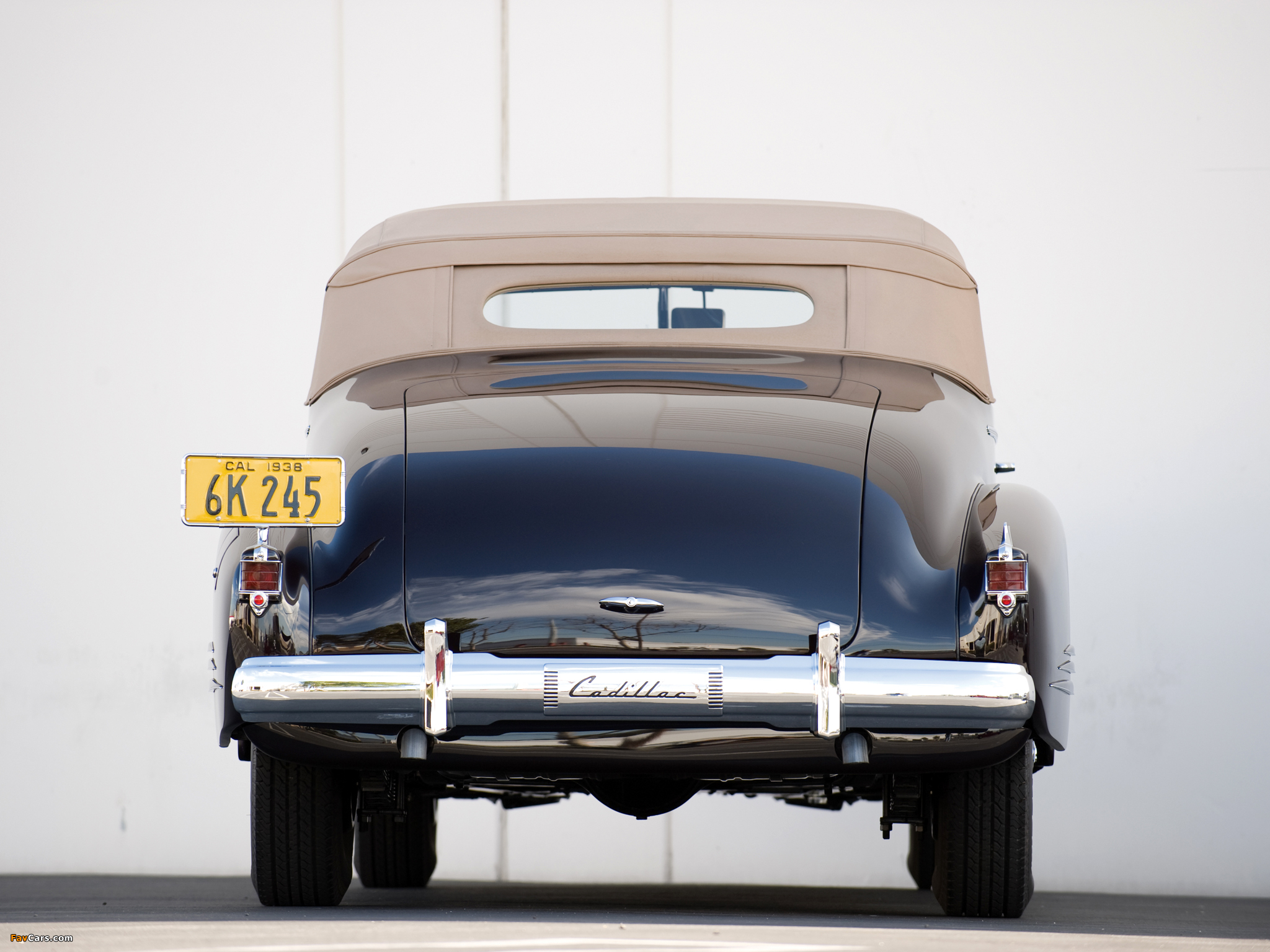 Cadillac V16 Series 90 Convertible Coupe 1938 images (2048 x 1536)