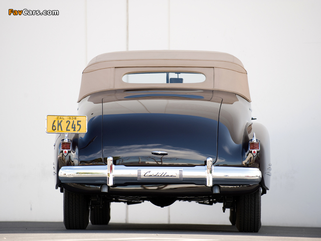 Cadillac V16 Series 90 Convertible Coupe 1938 images (640 x 480)