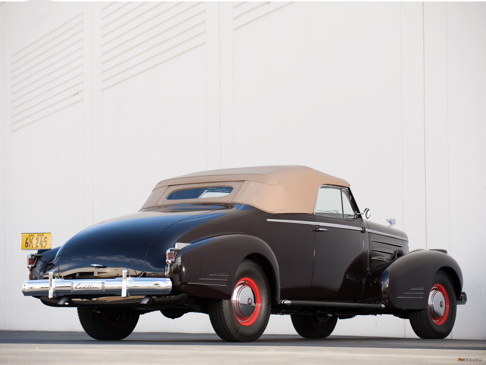 Cadillac V16 Series 90 Convertible Coupe 1938 pictures (2048 x 1536)