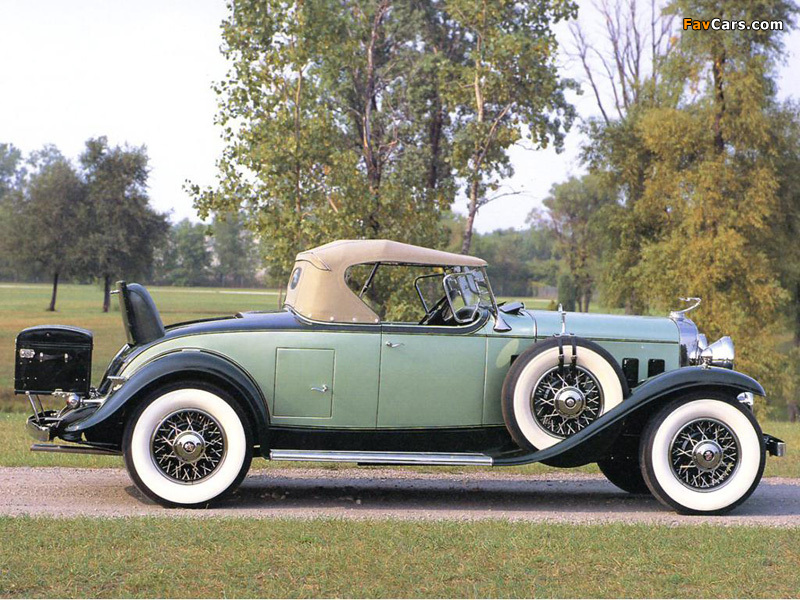 Images of Cadillac V16 452 Roadster 1930 (800 x 600)