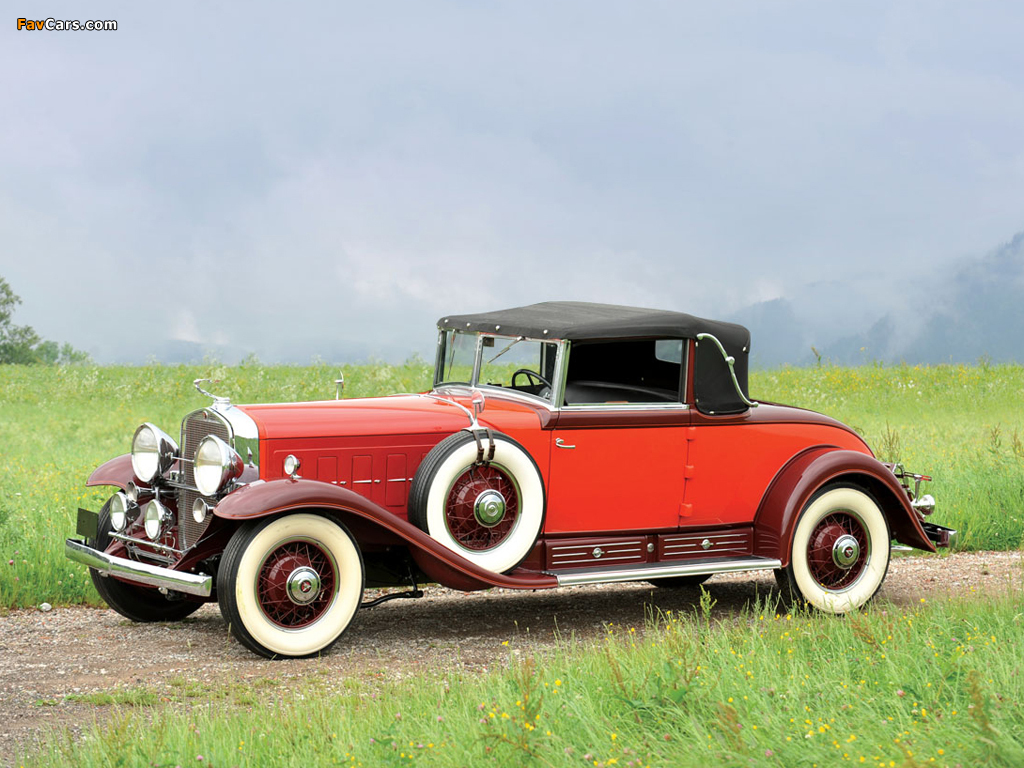 Images of Cadillac V16 Convertible Coupe by Fleetwood 1930 (1024 x 768)