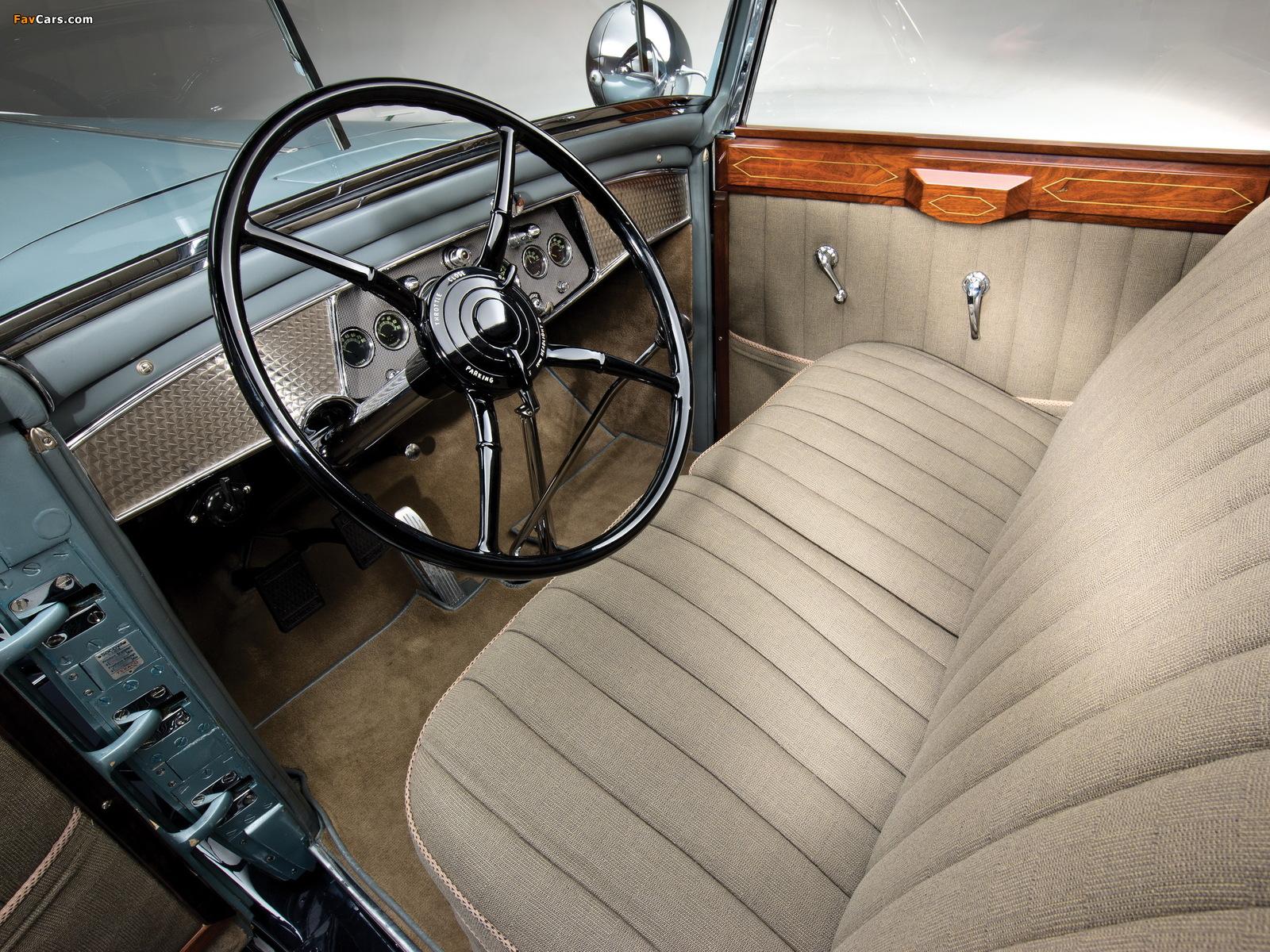 Images of Cadillac V16 Convertible Sedan by Saoutchik 1930 (1600 x 1200)