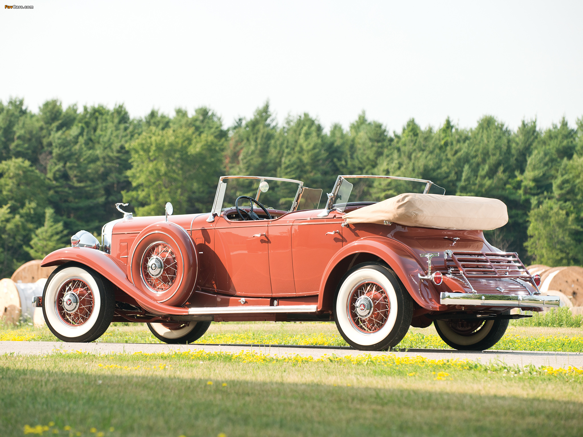 Images of Cadillac V16 Series 452 Special Dual Cowl Phaeton by Fleetwood (4260) 1931 (2048 x 1536)