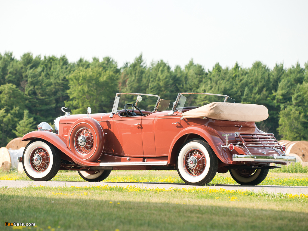 Images of Cadillac V16 Series 452 Special Dual Cowl Phaeton by Fleetwood (4260) 1931 (1024 x 768)