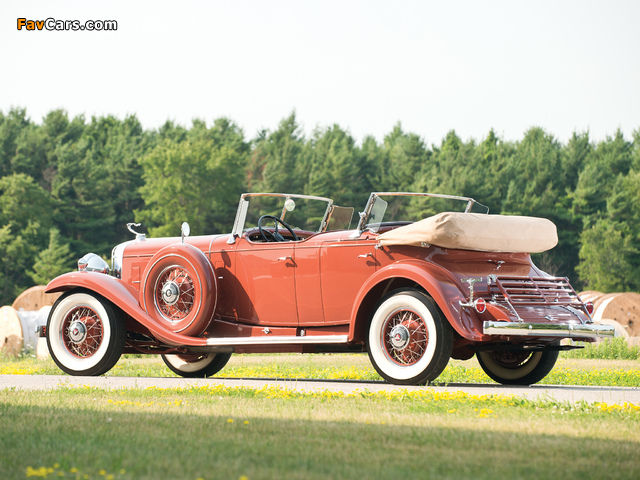 Images of Cadillac V16 Series 452 Special Dual Cowl Phaeton by Fleetwood (4260) 1931 (640 x 480)