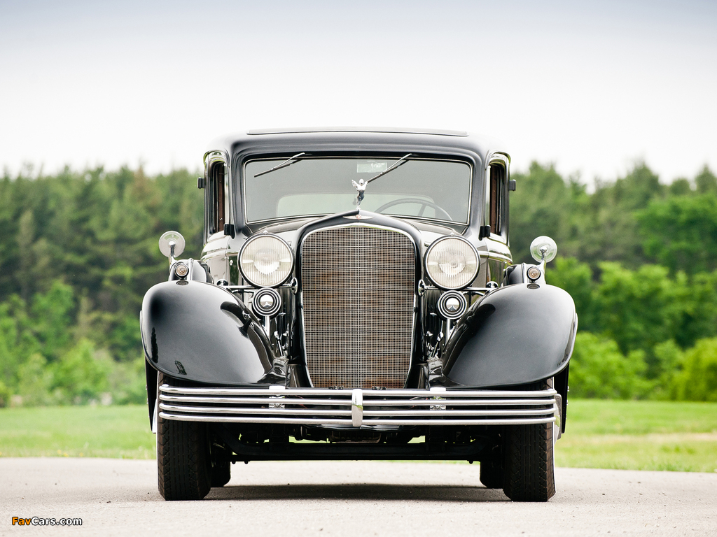 Images of Cadillac V16 452-C Limousine by Fleetwood 1933 (1024 x 768)