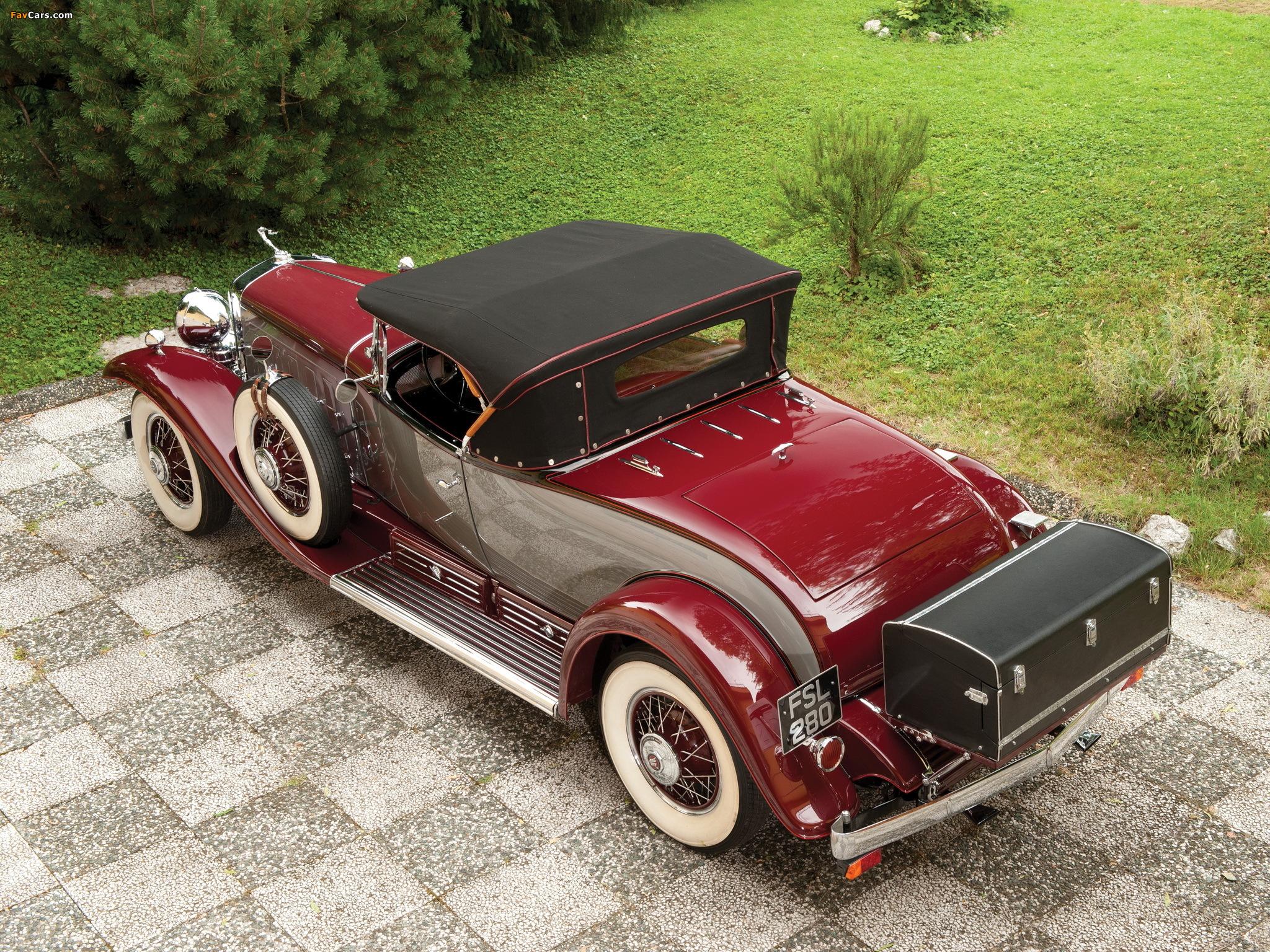 Photos of Cadillac V16 452 Roadster 1930 (2048 x 1536)