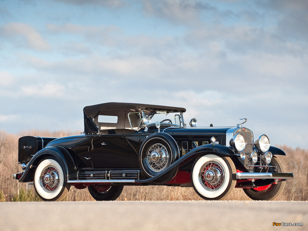Photos of Cadillac V16 452/452-A Roadster by Fleetwood 1930–31 (1024 x 768)