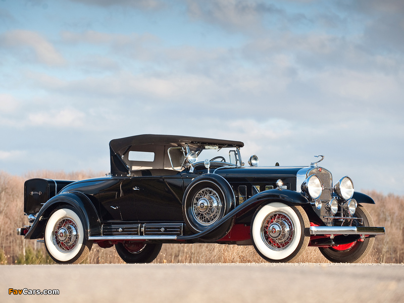 Photos of Cadillac V16 452/452-A Roadster by Fleetwood 1930–31 (800 x 600)