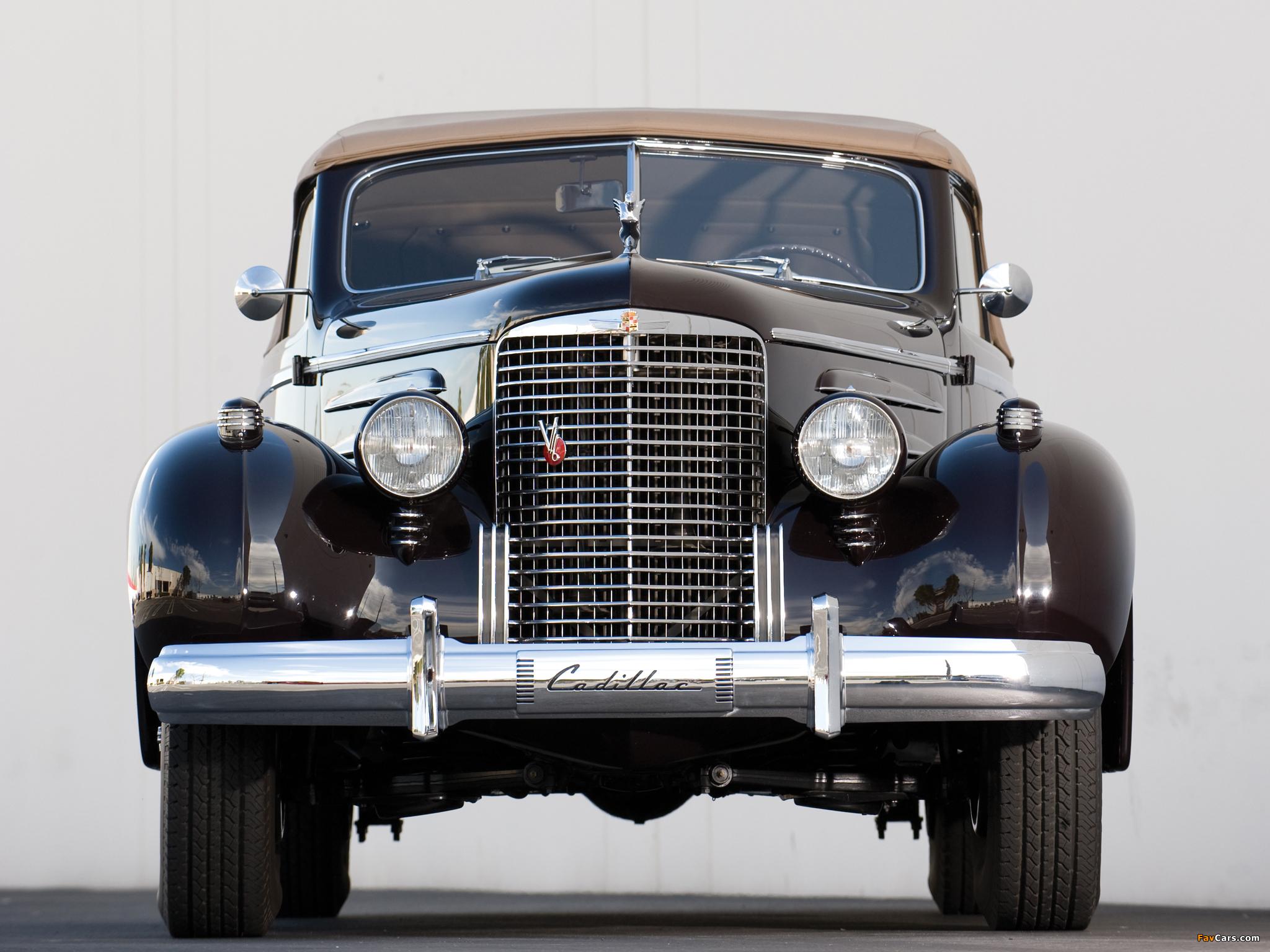 Photos of Cadillac V16 Series 90 Convertible Coupe 1938 (2048 x 1536)