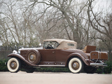 Cadillac V16 452/452-A Roadster by Fleetwood 1930–31 wallpapers