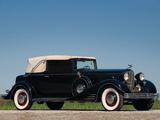 Cadillac V16 452-C Convertible Victoria 1933 wallpapers