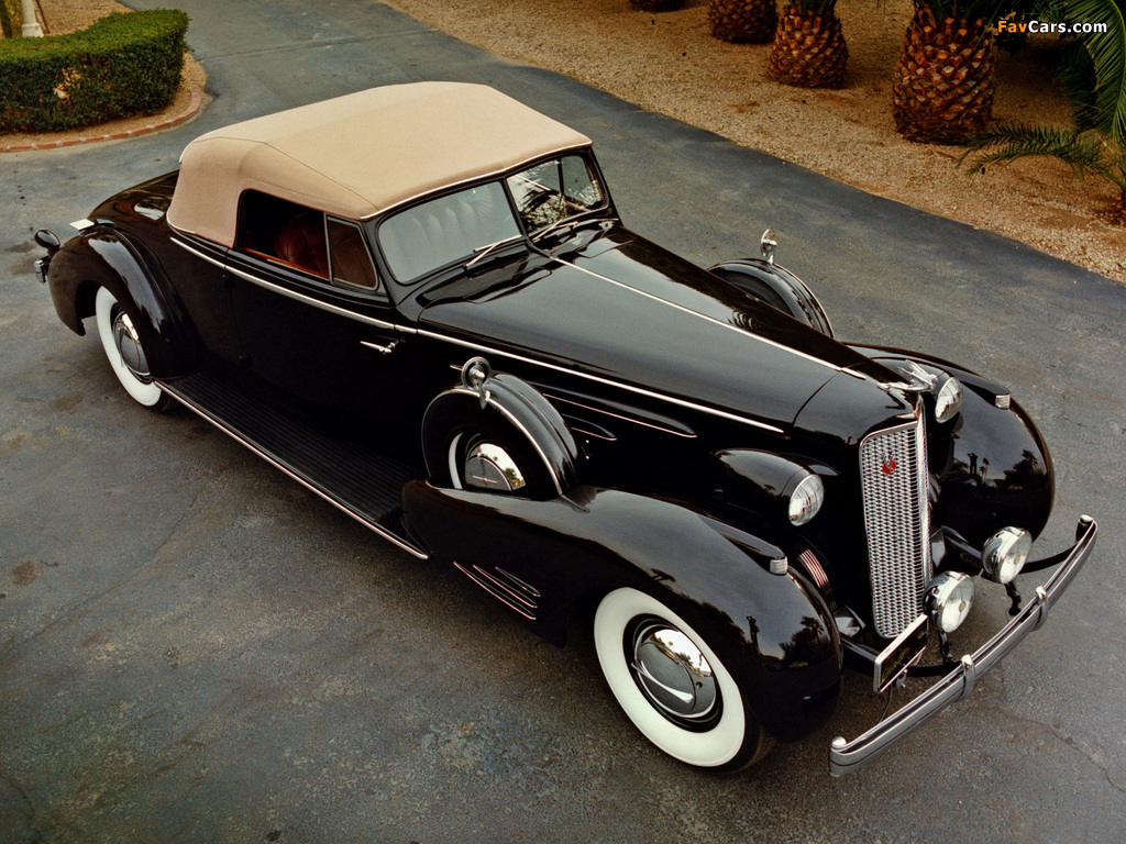 Cadillac V16 Series 90 Convertible Coupe 1936 wallpapers (1024 x 768)