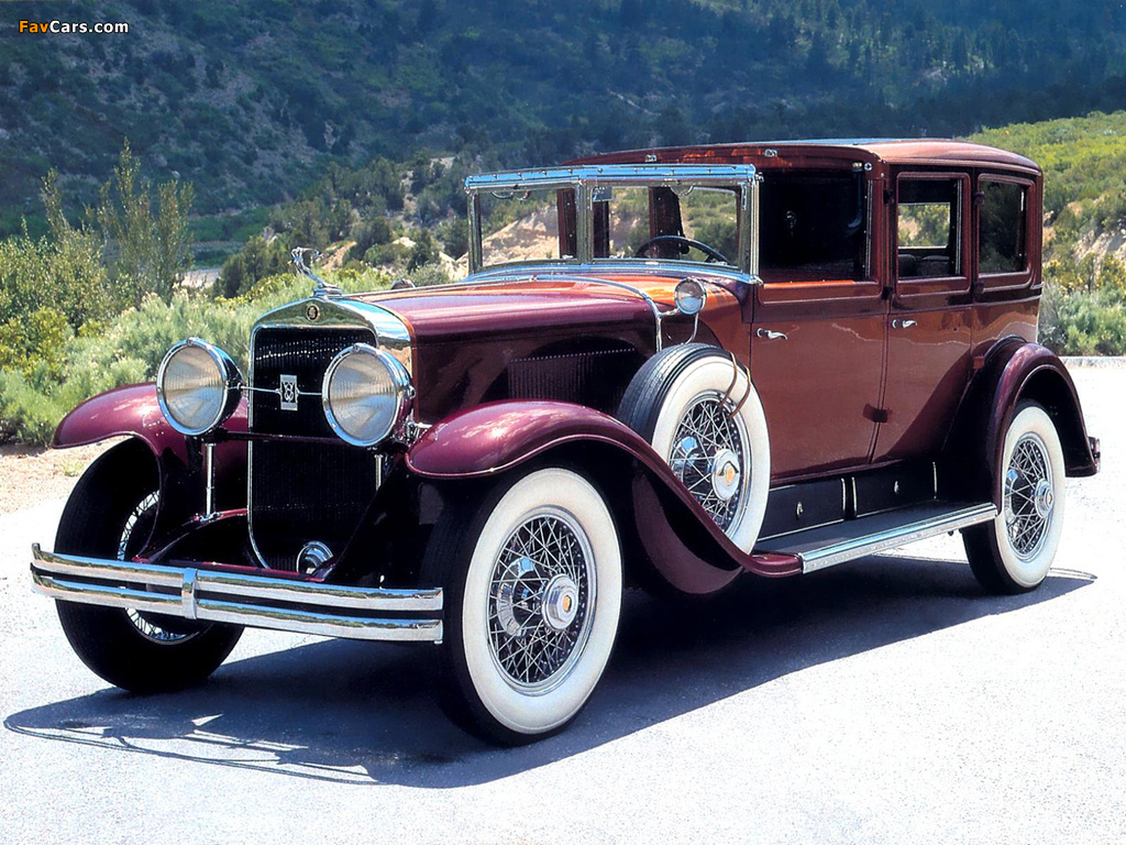 Cadillac V8 341-A Town Car by Fleetwood 1928 pictures