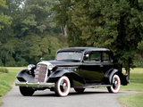Cadillac V8 355-D Town Coupe by Fisher (10-34722) 1934 wallpapers