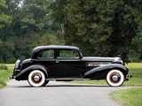 Images of Cadillac V8 355-D Town Coupe by Fisher (10-34722) 1934