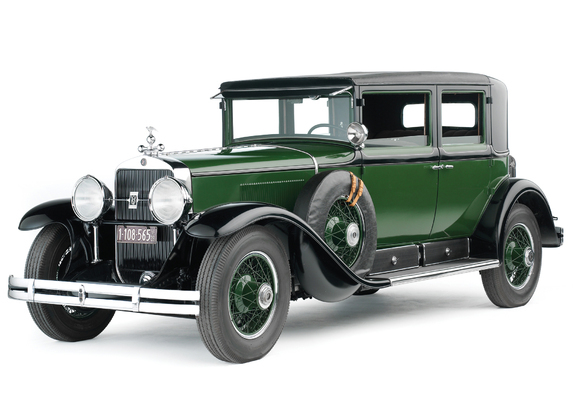 Photos of Cadillac V8 341-A Town Sedan Armored 1928