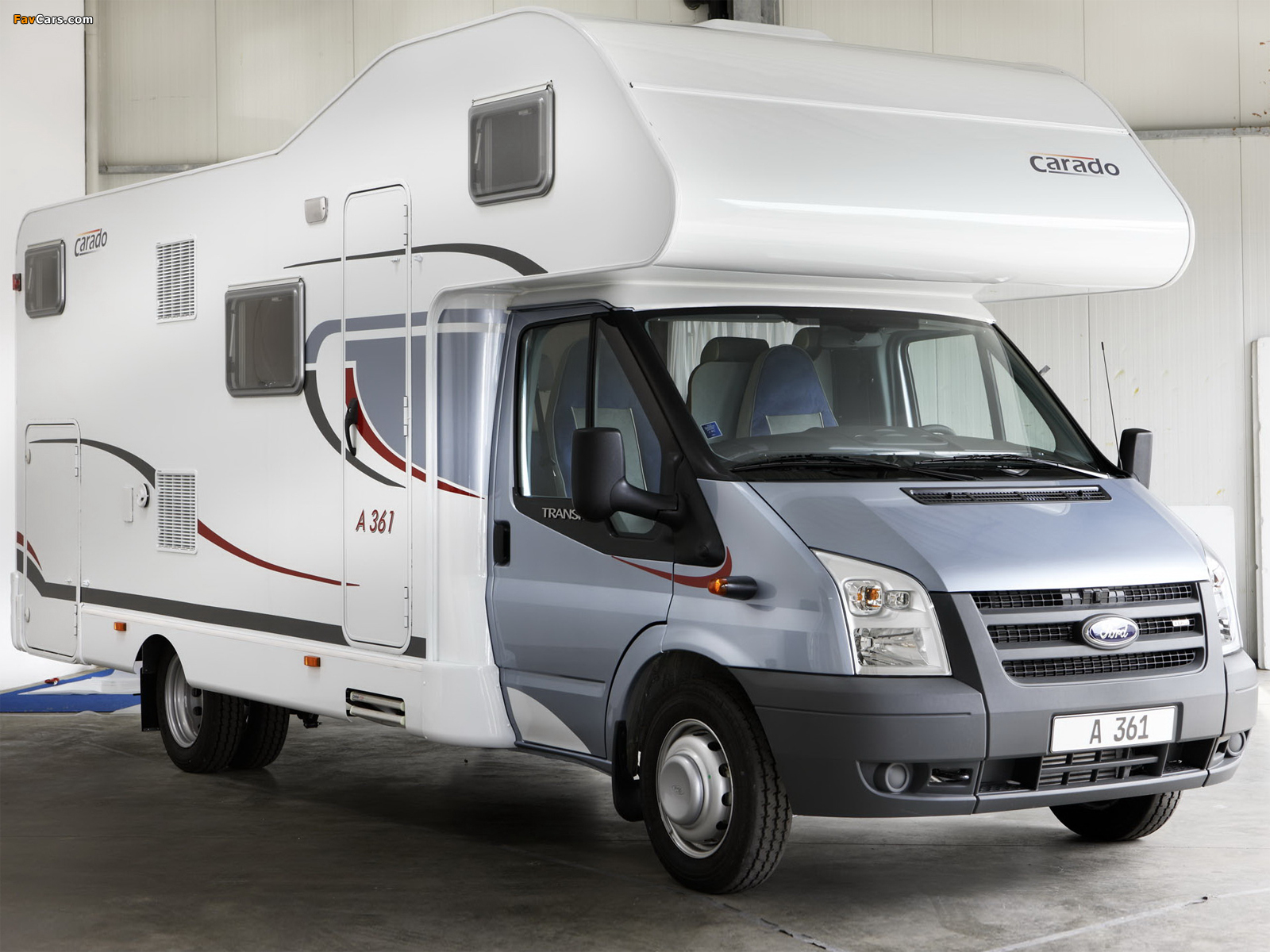 Carado A361 based on Ford Transit 2009 images (1600 x 1200)