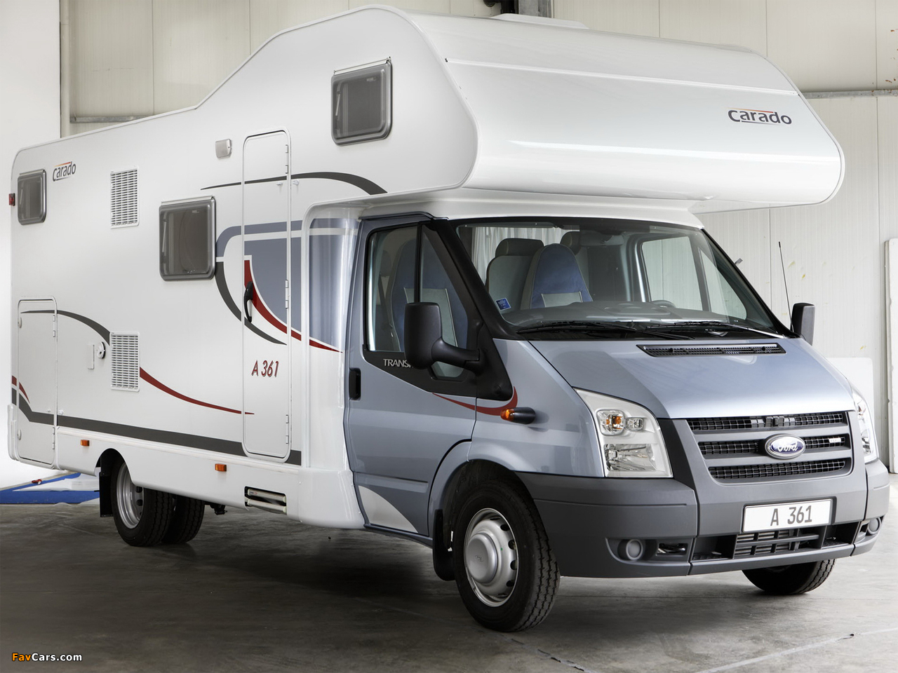 Carado A361 based on Ford Transit 2009 images (1280 x 960)