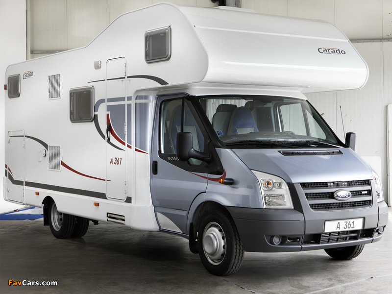 Carado A361 based on Ford Transit 2009 images (800 x 600)