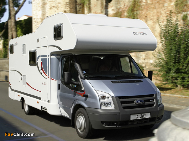 Carado A361 based on Ford Transit 2009 photos (640 x 480)