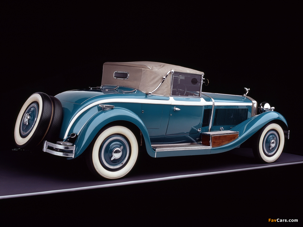 Photos of Isotta-Fraschini Tipo 8A Cabriolet by Castagna 1929 (1024 x 768)