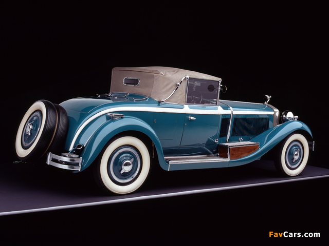 Photos of Isotta-Fraschini Tipo 8A Cabriolet by Castagna 1929 (640 x 480)
