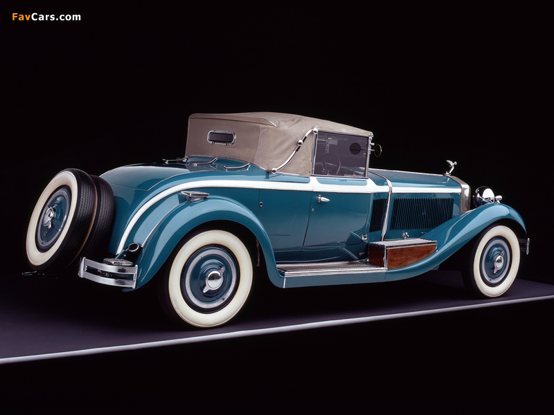 Photos of Isotta-Fraschini Tipo 8A Cabriolet by Castagna 1929 (800 x 600)