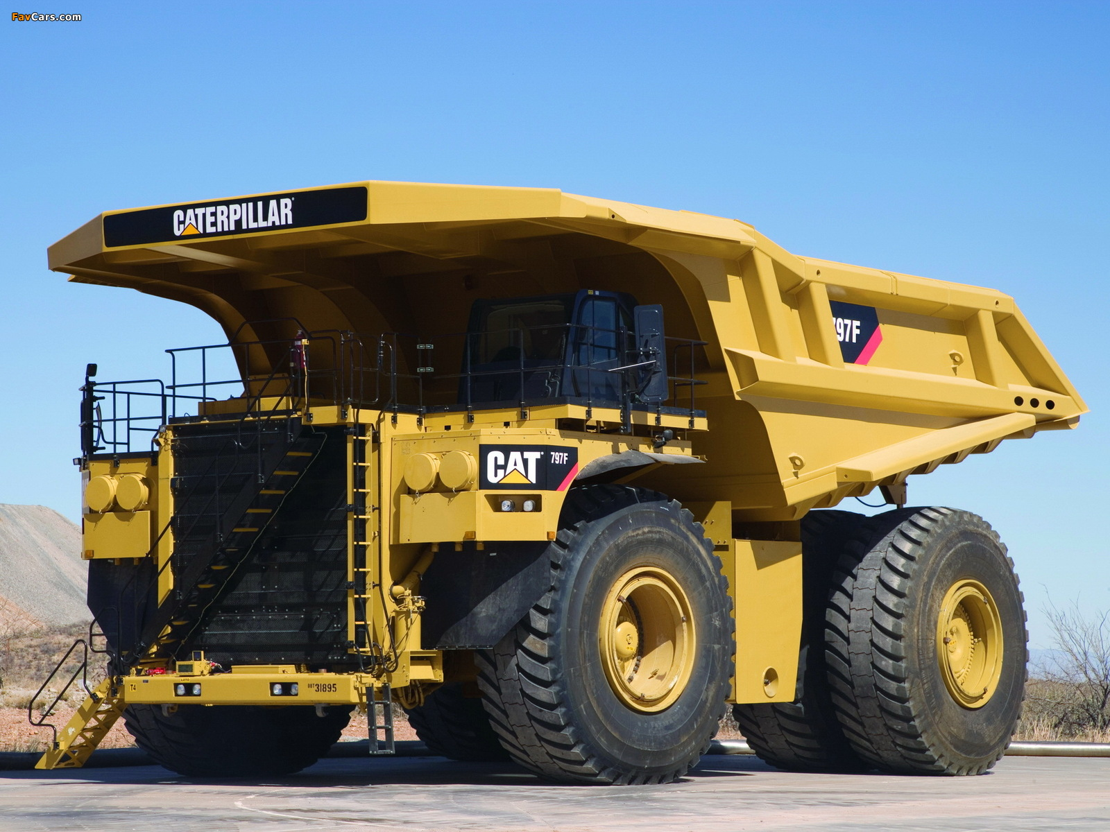 Caterpillar 797F 2009 photos (1600 x 1200)