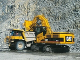 Images of Caterpillar 775E & 385C