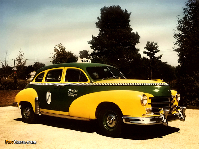 Images of Checker Model A6 Taxi Cab 1953– (640 x 480)