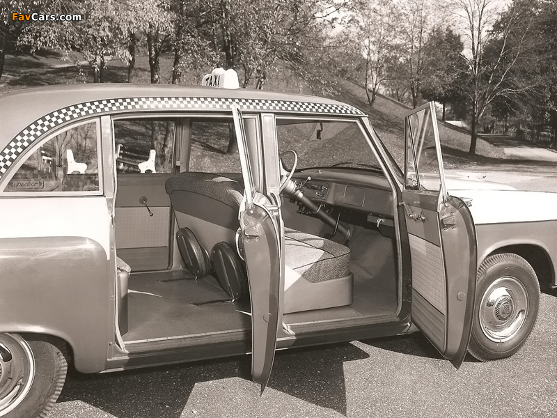Checker Model A8 Taxi Cab 1956 wallpapers (800 x 600)