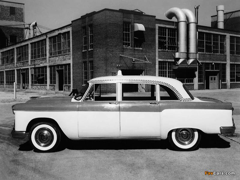 Photos of Checker Model A8 Taxi Cab 1956 (800 x 600)