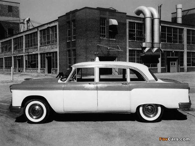 Photos of Checker Model A8 Taxi Cab 1956 (640 x 480)