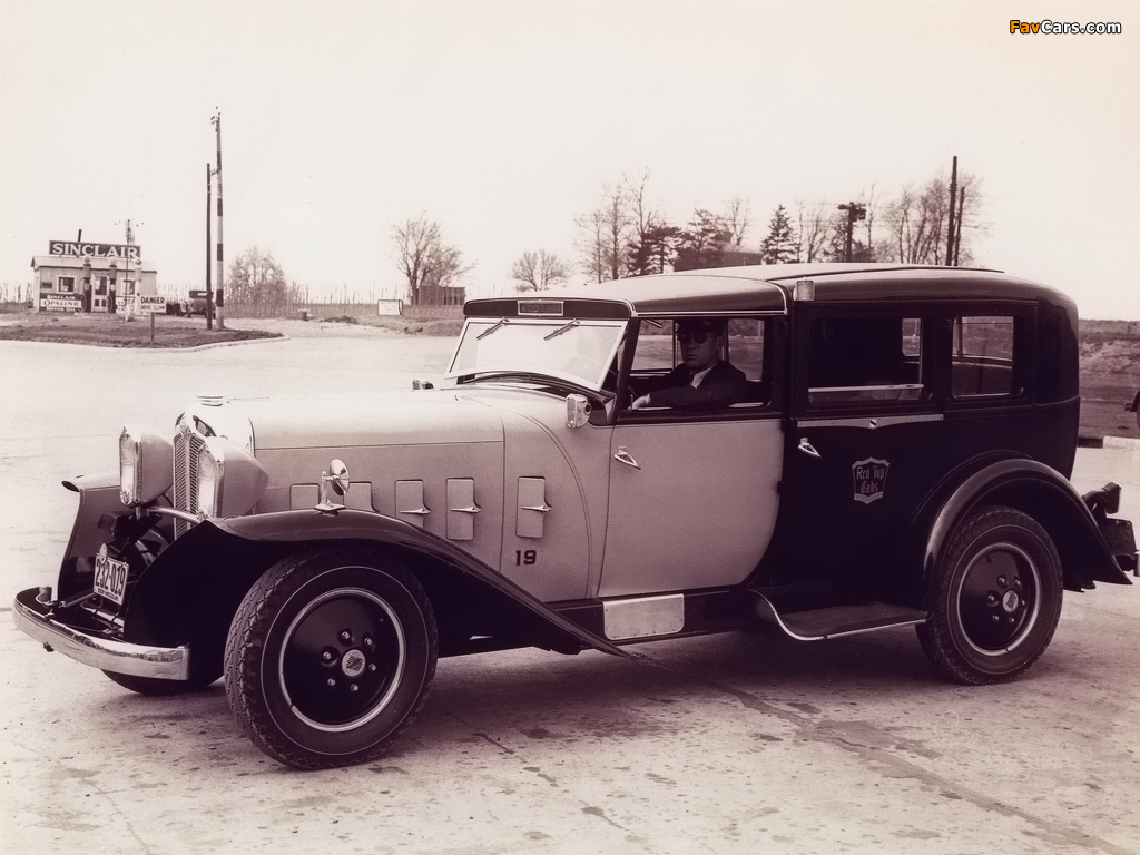 Checker Model M Taxi Cab 1931 wallpapers (1024 x 768)