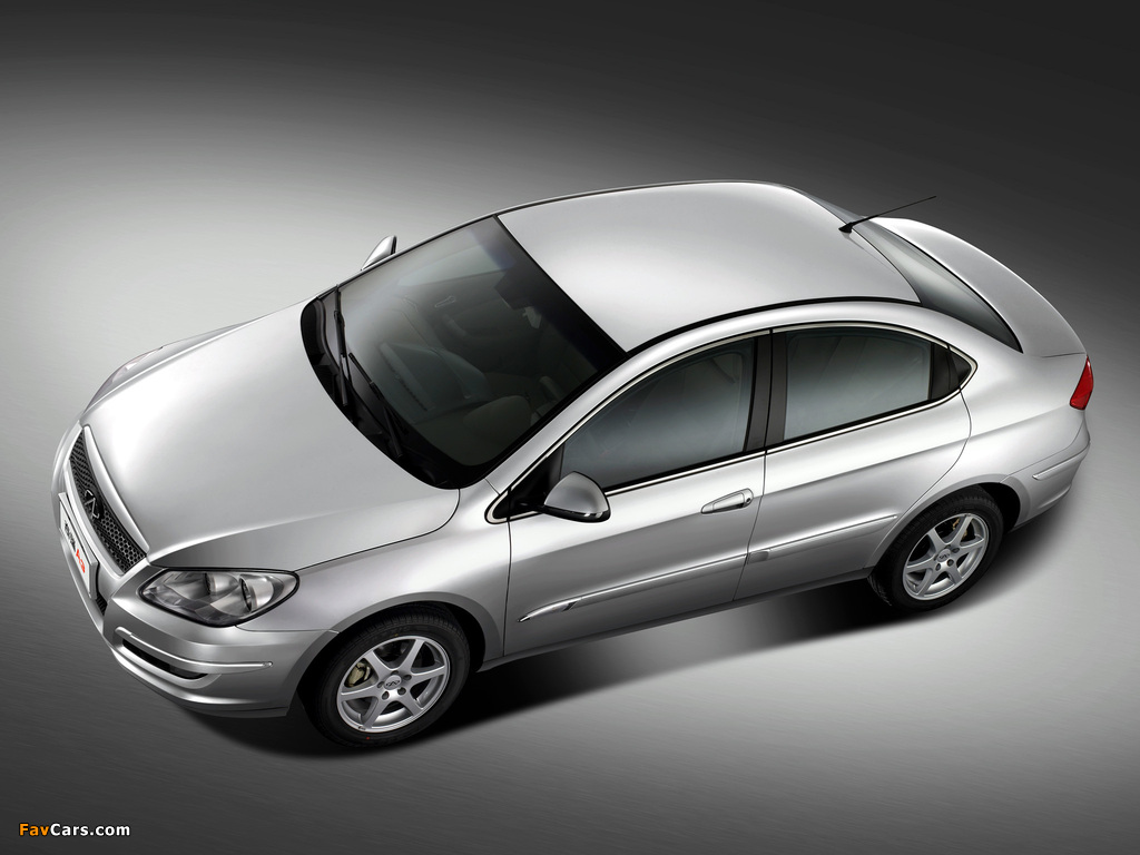 Images of Chery M11 Sedan (A3) 2008 (1024 x 768)