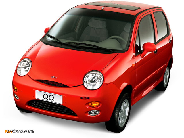 Chery QQ (S11) 2003–06 pictures (640 x 480)