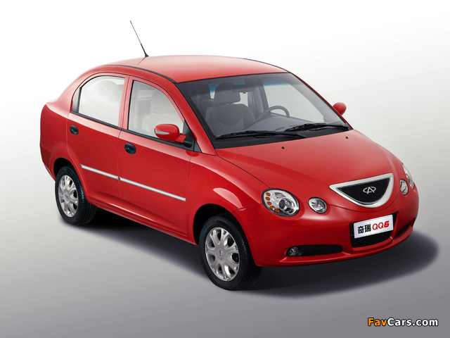 Pictures of Chery QQ6 (S21) 2006–10 (640 x 480)