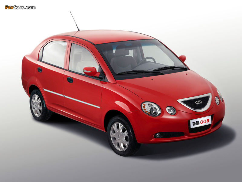 Pictures of Chery QQ6 (S21) 2006–10 (800 x 600)